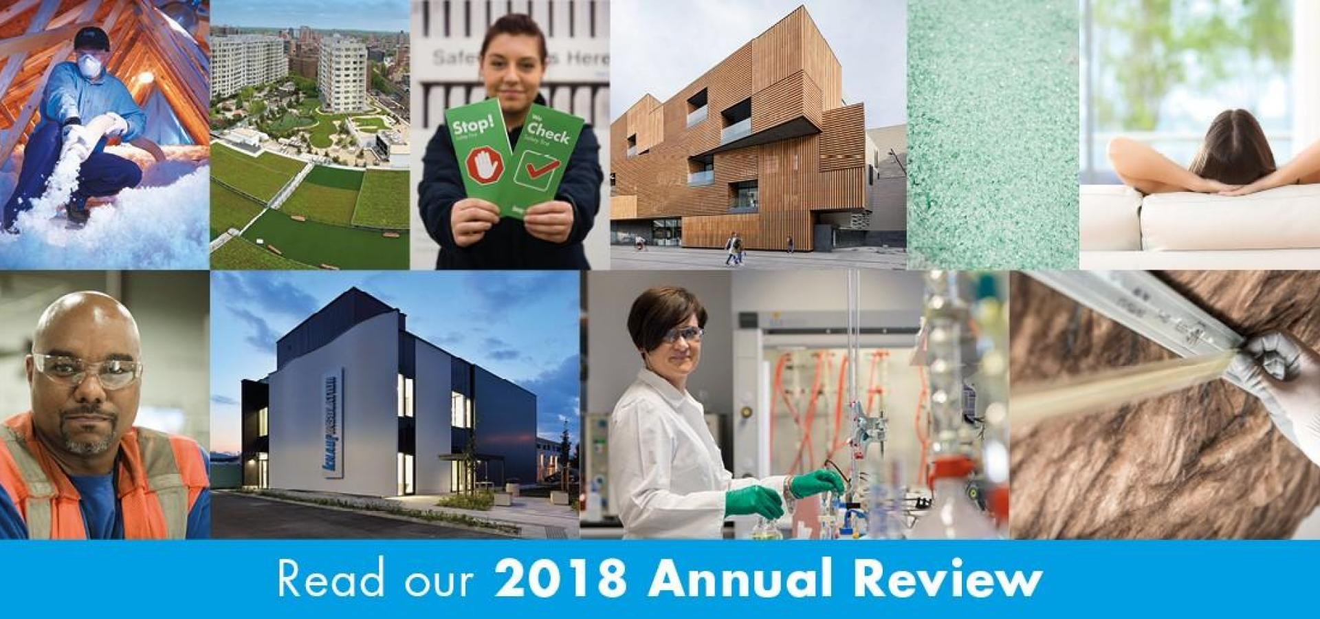 KNAUF INSULATION ANNUAL REVIEW 2018